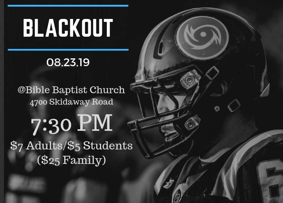 Hurricane Football Blackout Game