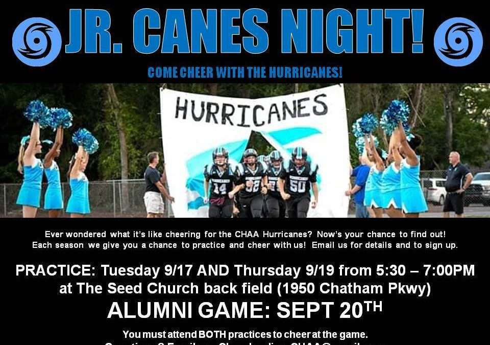 Jr. Canes Night