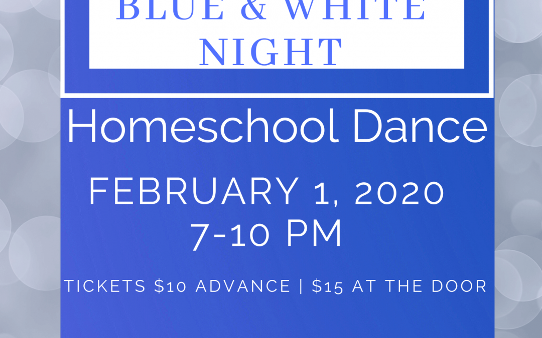 Homeschool Dance FEB 1 2020