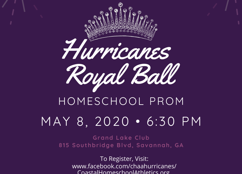 Hurricanes Royal Ball Homeschool Prom