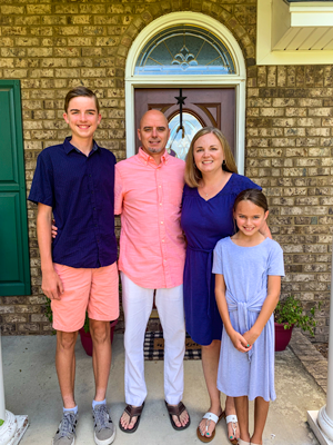 Jeff Faith and Family